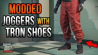 MODDED JOGGERS WITH TRON SHOES OUTFIT TUTORIAL - DIRECT MODE GLITCH