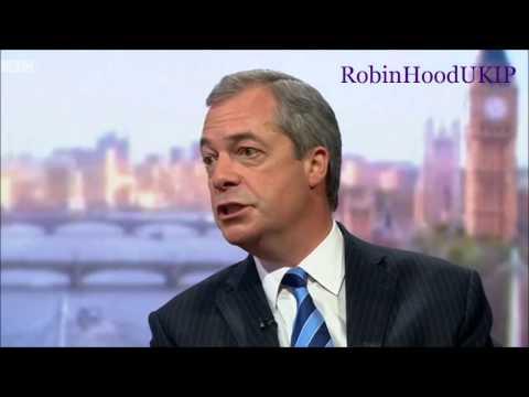 Nigel Farage has had enough of the BBC