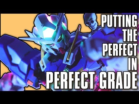 Putting the Perfect in Perfect Grade | PG Gundam Exia Lighting Mode Review MECHA GAIKOTSU