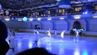 Одесса, Льдинка 28 12 2014 Новогоднее шоу  Любительское выступление