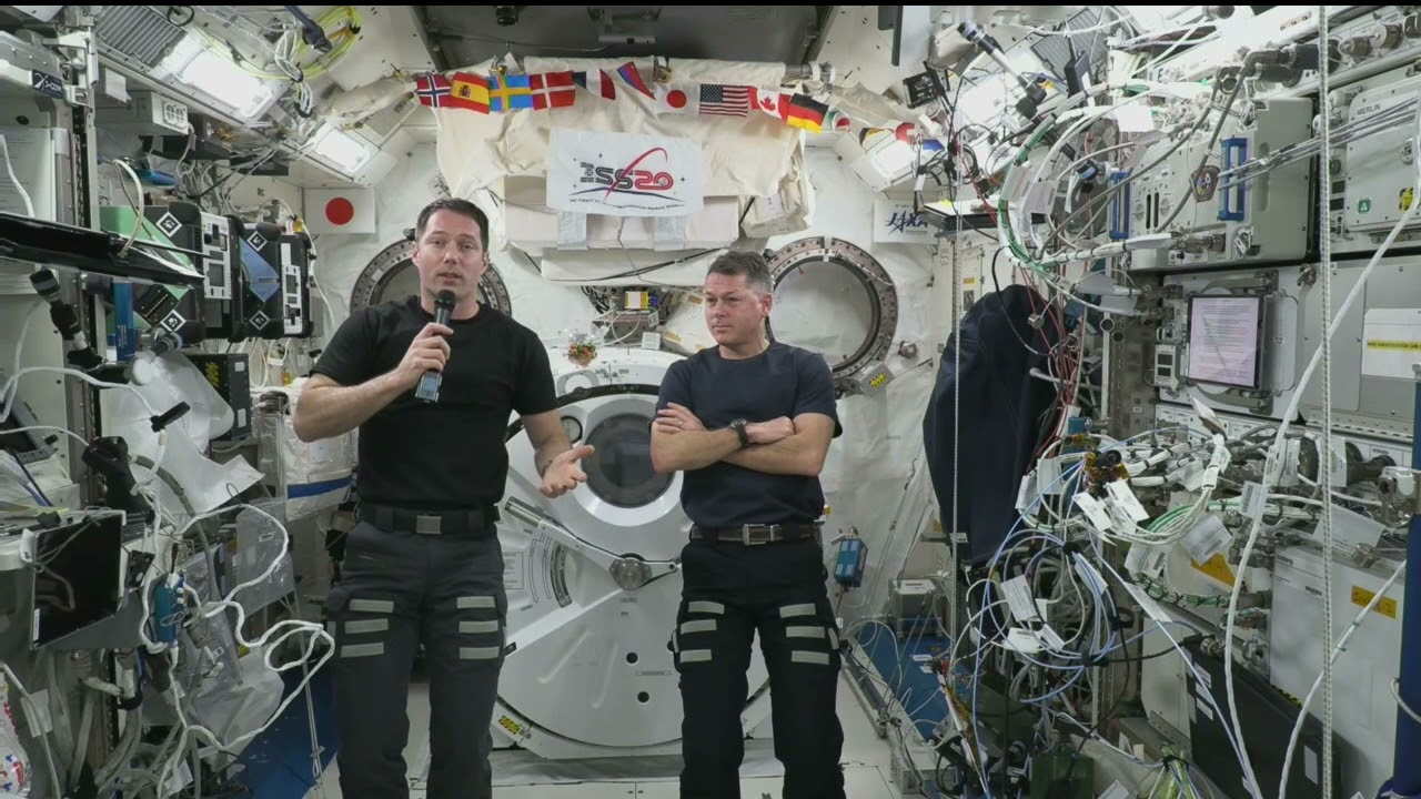 Expedition 66 inflight with Seeker.com - October 25, 2021 - NASA Video