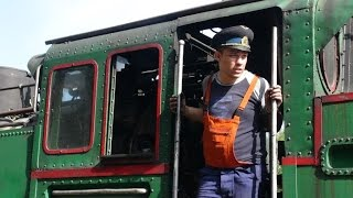 Rhodope Mountain Railway, Part 2 - forward facing and on train cameras