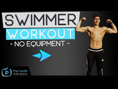 10 Minute Dryland Workout For Swimmers