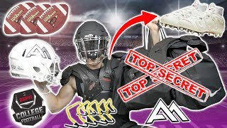 WHAT'S IN MY NCAA COLLEGE FOOTBALL BAG? | *2019*