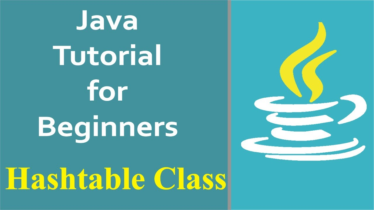 Java Programming How To Use Hashtable In Java Youtube