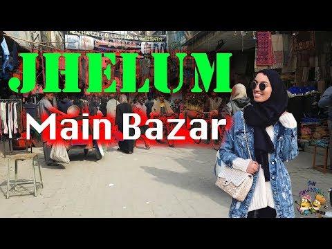 Jhelum Bazar shopping 2018