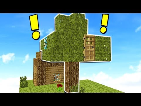 Thumbnail: WORLD'S BIGGEST MINECRAFT TREE HOUSE!