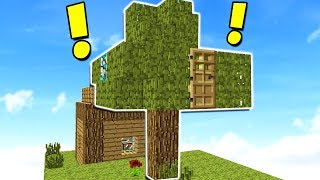 WORLD'S BIGGEST MINECRAFT TREE HOUSE!