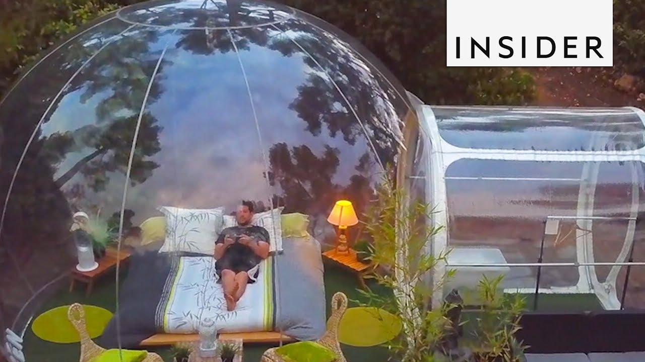 """Балон-хотел во Франција во кој може да спиете """"под ѕвездите"""""""