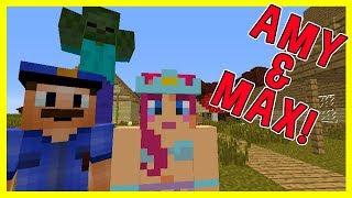 JINX'S SPECIAL DELIVERY! | Amy & Max! Ep.43 | Minecraft