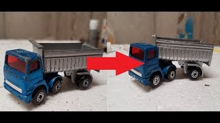 Matchbox Restoration: 1980 Lesney Articulated Truck and Trailer