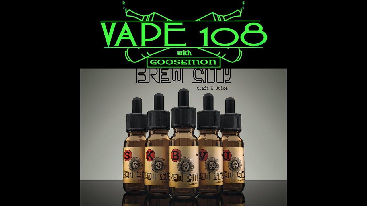5 From Brew City Craft E-Juice & Vape108