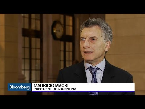 Argentine President Mauricio Macri Talks Investment, Trade, and Economic Plans