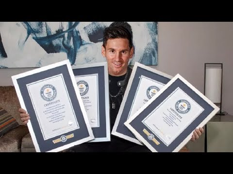 LIONEL MESSI Y SUS 6 RÉCORDS GUINNESS QUE PRESUME EN SU CARRERA