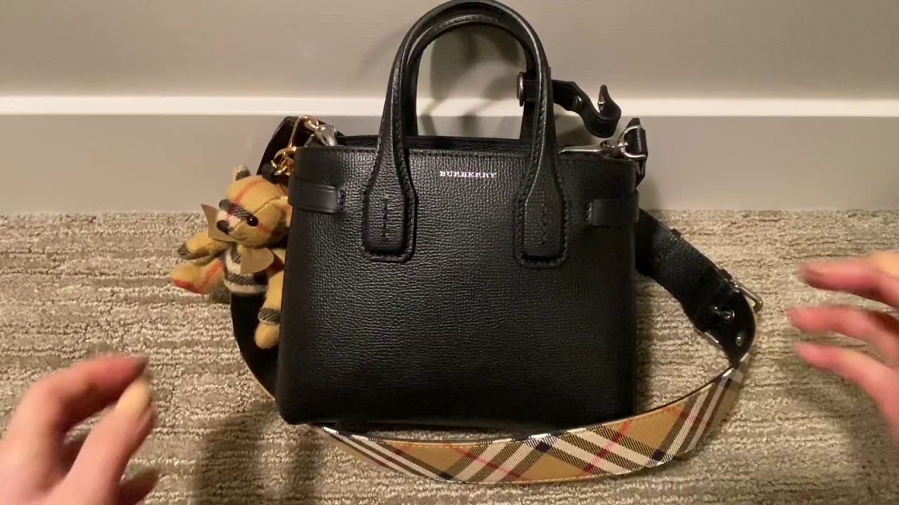 What Fits In My Bag Burberry Baby Banner Youtube