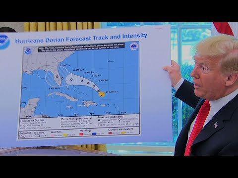 Trump uses altered map to try to prove he was right about Dorian threatening Alabama: A.M. News Links