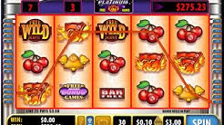 QUICK HIT PLATINUM Huge Win $3.00 Bet Online Slot Machine Live Play Free Spins Nice BONUS Win