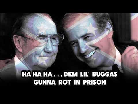 Joe Biden and Strom Thurmond