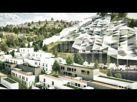مشروع مدينة عصرية في البليدة الجزائر Projet ville moderne à Blida Algerie