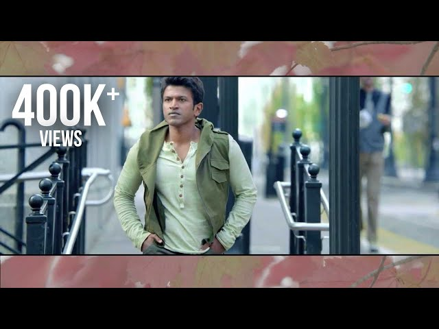 Ninnindale : Neenu Iruvaga Song Teaser - Puneeth Rajkumar | Erica | Jayanth Paranji | trailer Travel Video