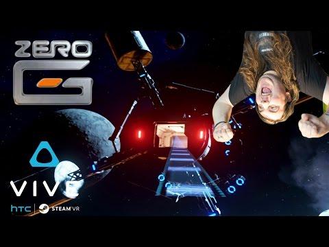 Nitro Boosted Jet Pack In Space | Zero-G VR | HTC Vive