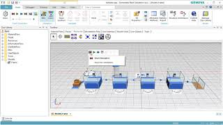 Plant Simulation: Modeling with Workers