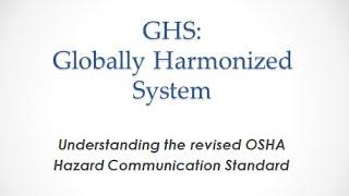 OSHA GHS Training