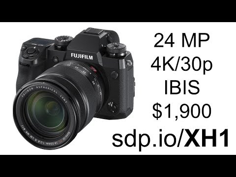 Fuji X-H1 Preview (vs X-T2, GH5)
