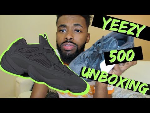 ADIDAS YEEZY 500 UTILITY (TRIPLE BLACK YEEZY REVIEW)