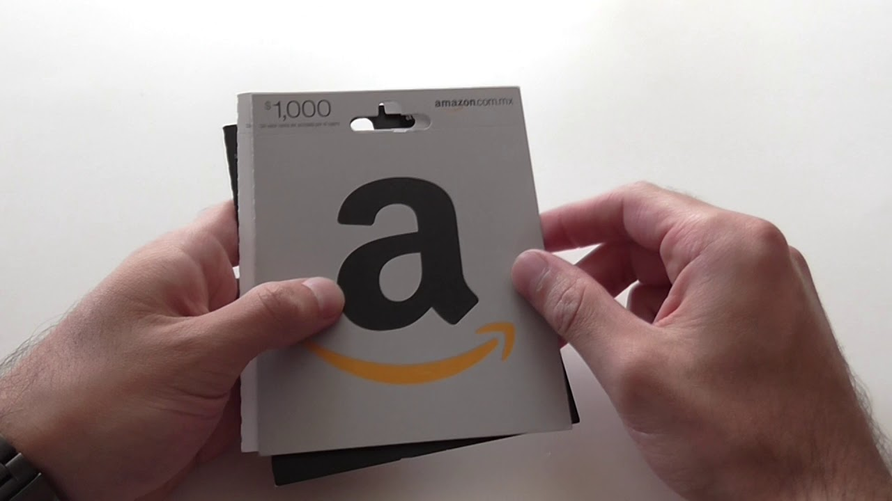 tarjetas regalo amazon son acumulables