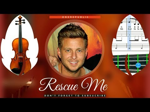 Rescue Me Sheet Music Violin - OneRepublic Rescue Me Tutorial thumbnail