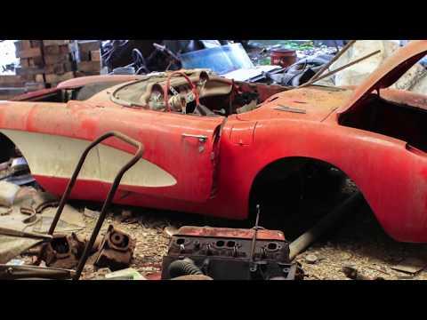 Ridiculous 1957 Corvette Barn Find