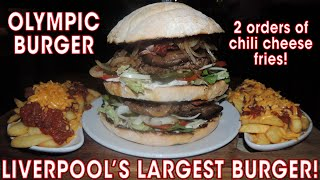 Liverpool's Largest Burger