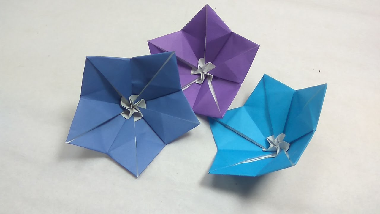 How to make origami campanula bellflower ballon flower tutorial how to make origami campanula bellflower ballon flower tutorial naomiki sato mightylinksfo