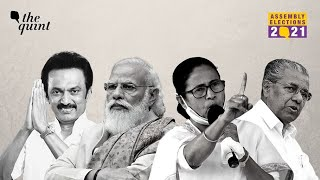 Assembly Election Results 2021 | West Bengal, Tamil Nadu, Kerala, Assam and Puducherry Results