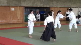 (財)合気会公認 合気道新川塾が公開している動画です。