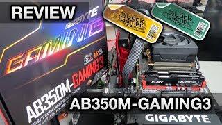 GIGABYTE AB350M-Gaming 3 AM4 - Análise e testes com overclock no Ryzen 5 1500X, 7 1700 e RAM 3200