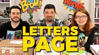 Amazing Spider-Comics and More - Letters Page