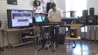 mmag.ru: Roland BK-9 «Supernatural» Hi-End «самоиграйка» - видео обзор