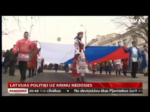 Latvijas politiķi uz Krimu nedosies