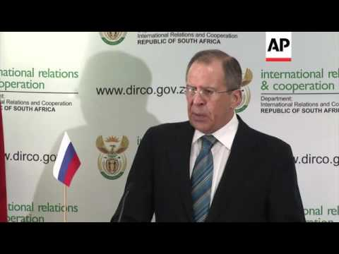 Russian FM Lavrov commenting on NKorea, Iran