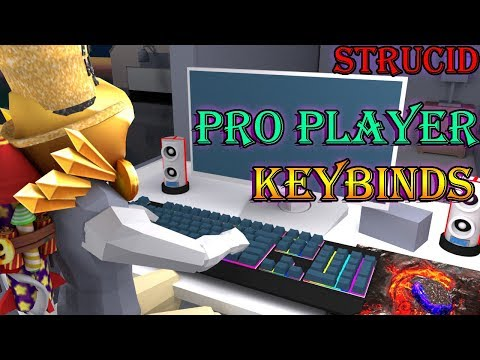 THE BEST STRUCID PRO PLAYER KEYBINDS / TIPS & TRICKS! [2019]