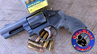 Shooting the Smith & Wesson Performance Center® Model 19 Carry Comp® Revolver  - Gunblast.com