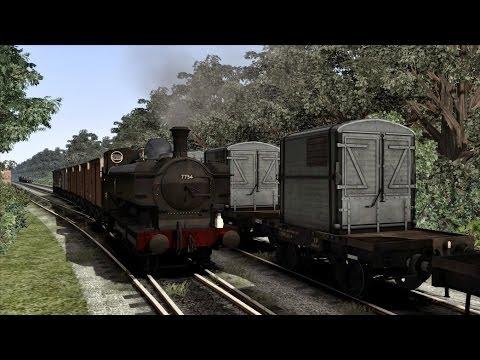 Train Simulator 2014 - Operaciones en la Playa / Freight Operations - GWR 57XX Pannier Tank (HD)