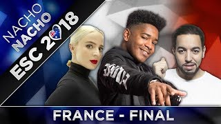 TOP 8 FRANCE (Final) ESC 2018 (Destination Eurovision Preselection)