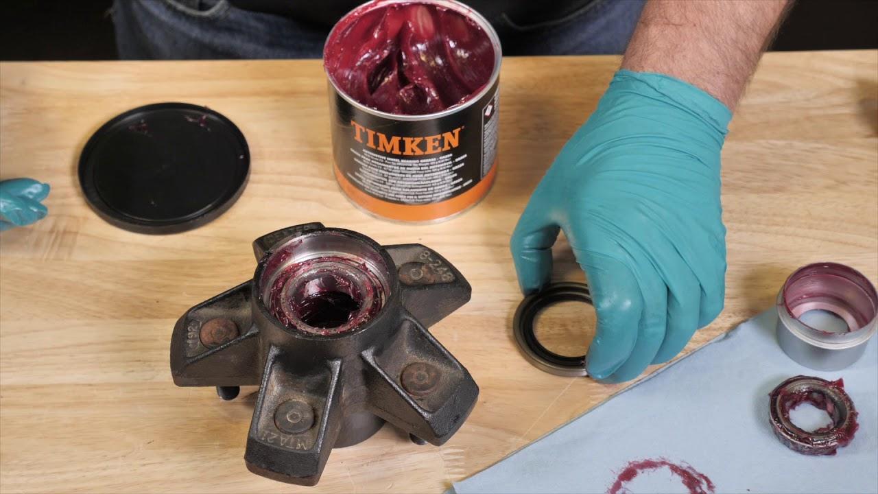 Timken Tricks of the Trade: Trailer Wheel Bearing Maintenance