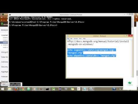 Resolved MongoDB error as setup Wizard ended prematurely