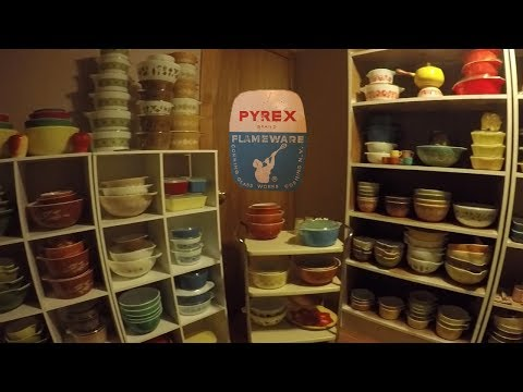 VINTAGE PYREX COLLECTION and Glassware - Federal - Fire King