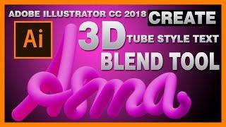 Illustrator cc 2018  New features -  adobe illustrator blend options - Digital Creations