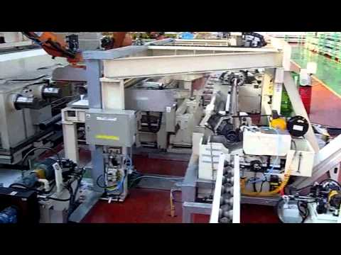 Pipe Cutting (Band Saw) & Facing (Beveling) Line